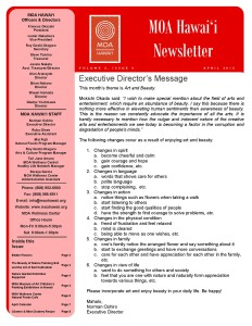 MOA Hawaii Newsletter - April 2015 Issue_Page_1